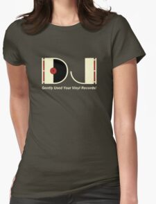 DJ Vintage Womens Fitted T-Shirt