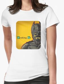 Breaking Bat Womens Fitted T-Shirt