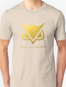 New Vanoss Limited Edition Gold Foil Logo Replica - No Background  |  The FIRST and BEST Vanoss design on Redbubble! T-Shirt
