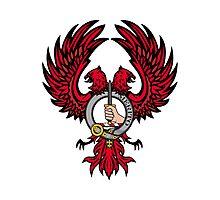 Dunlap Eagle w/ Badge Photographic Print