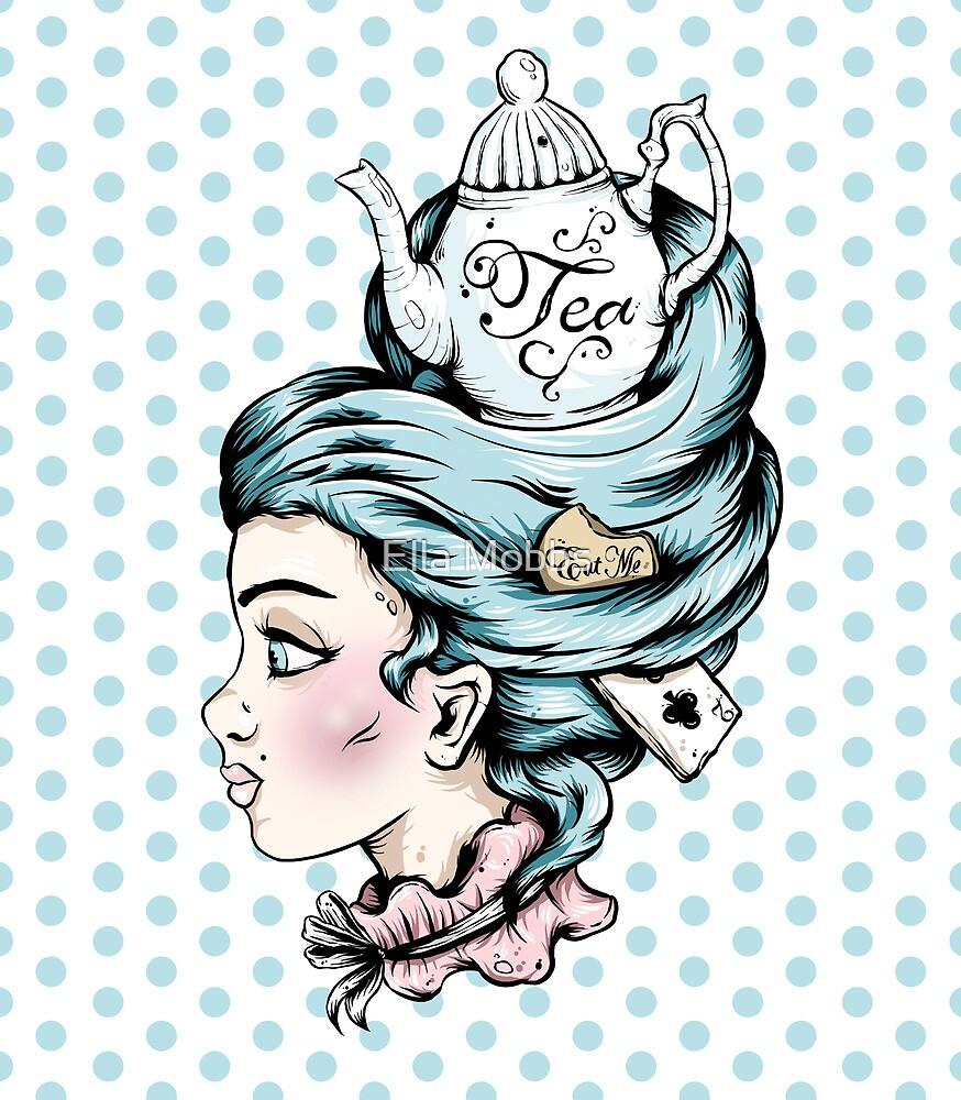 Tea Pot Lady by Creep Heart