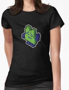 Ignignokt the Mooninite Womens Fitted T-Shirt