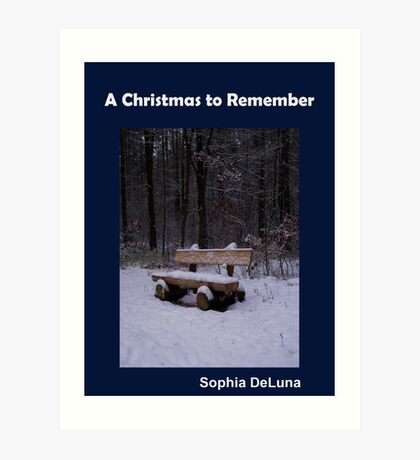 A Christmas to Remember - eBook Art Print