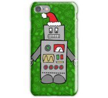 Santa Robot iPhone Case/Skin