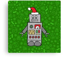 Santa Robot Canvas Print