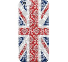 Wallpaper White UK iPhone Case/Skin