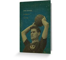 Jimmy Dickinson - Portsmouth Greeting Card