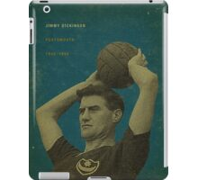 Jimmy Dickinson - Portsmouth iPad Case/Skin
