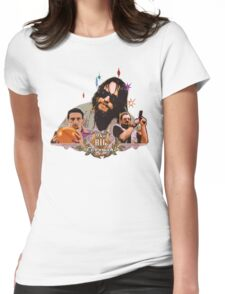 Big lebowski Collage Alternative Womens Fitted T-Shirt