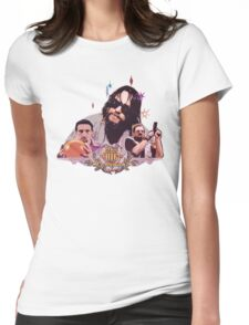 the dude and company Womens Fitted T-Shirt