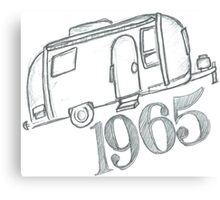 1965 Airstream Canvas Print