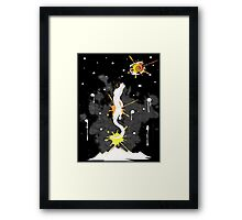 Falkor the never-ending story Framed Print