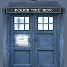 Doctor who Inspired Tardis Ipad Case by kevinlartees