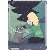 Giving Gifts at Christmas iPad Case/Skin