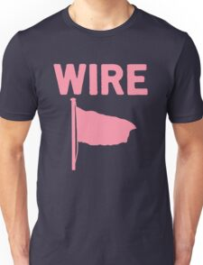 Wire - Pink Flag Unisex T-Shirt