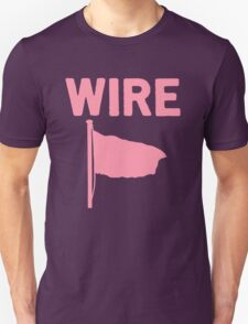 Wire - Pink Flag Unisex T-Shirt