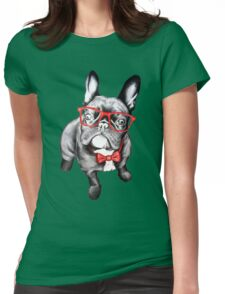 Happy Dog Womens Fitted T-Shirt