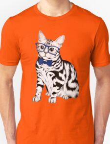 Hipster Cat Unisex T-Shirt