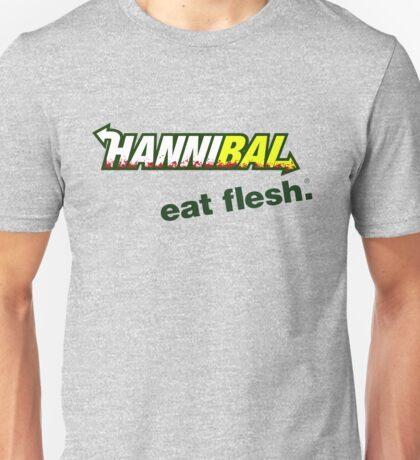"""Hannibal """"Eat Flesh"""" Unisex T-Shirt"""