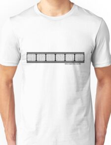 Film strip with binary code T-Shirt