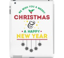 Merry Christmas & Happy New Year iPad Case/Skin