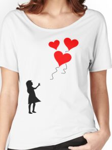 Lost balloons Women's Relaxed Fit T-Shirt