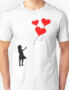 Lost balloons Unisex T-Shirt