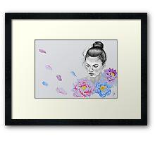 Peony Framed Print