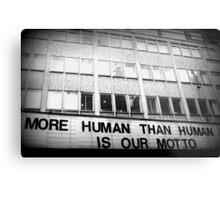 More Human Than Human Metal Print