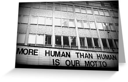 More Human Than Human by Ed Sweetman