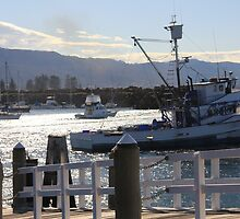 Sitting on the dock of the bay by Invisitatus