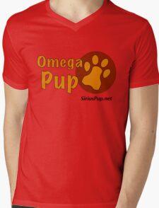 Omega Pup Mens V-Neck T-Shirt