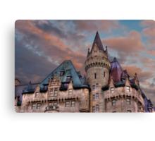 The Fairmont Chateau Laurier in Ottawa, Canada Canvas Print