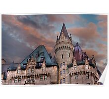 The Fairmont Chateau Laurier in Ottawa, Canada Poster