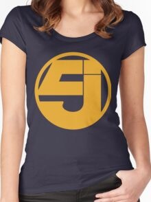 Jurassic 5 Women's Fitted Scoop T-Shirt