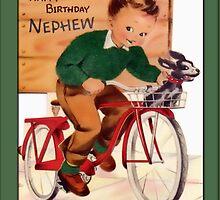 Nephew Birthday Greetings by Yesteryears