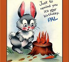 Pal Birthday Greetings by Yesteryears