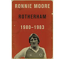 Ronnie Moore - Rotherham Photographic Print