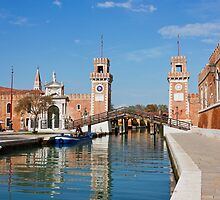 The Venetian Arsenal by kirilart