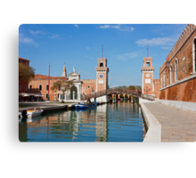 The Venetian Arsenal Canvas Print