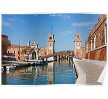 The Venetian Arsenal Poster