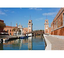 The Venetian Arsenal Photographic Print