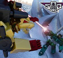 Razorclaw Vs Onslaught by DetailArtist