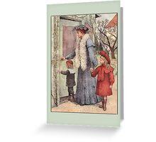 Family Visit Greetings Greeting Card