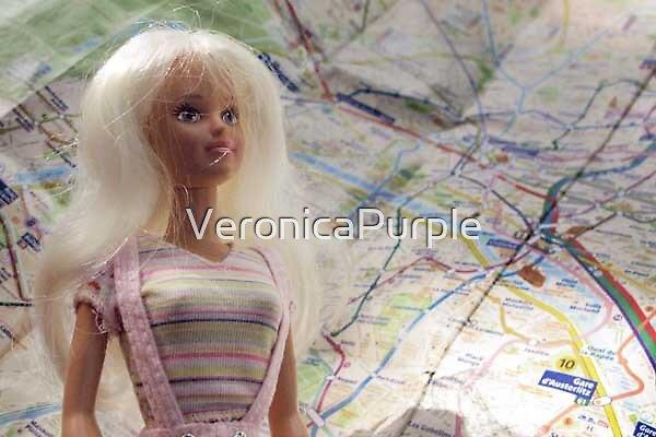 Paris metro, so confusing! by VeronicaPurple