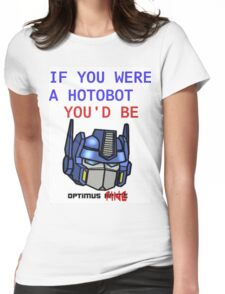 Optimus Fine Womens Fitted T-Shirt