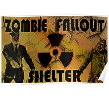 Zombie Fallout Shelter Poster