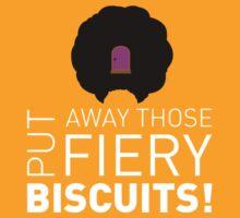 Rudi Van DiSarzio Fiery Biscuits by J Whitehouse