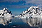 Reflecting on Antarctica 014 by Karl David Hill