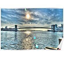 Brooklyn Bridge (Surreal) Poster